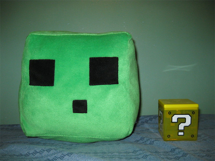 Slime plush diy project