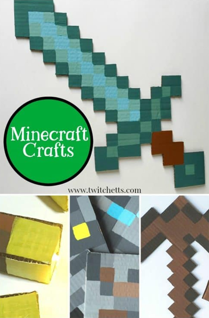 DIY minecraft sword project