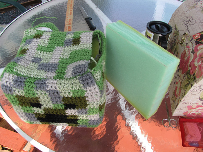 Creeper crochet minecraft