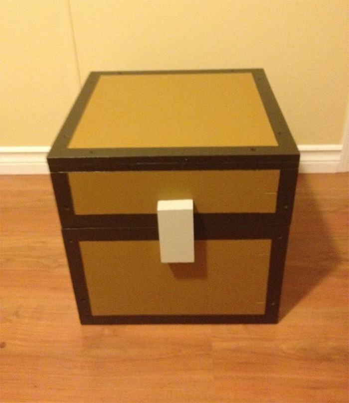 Minecraft chest diy