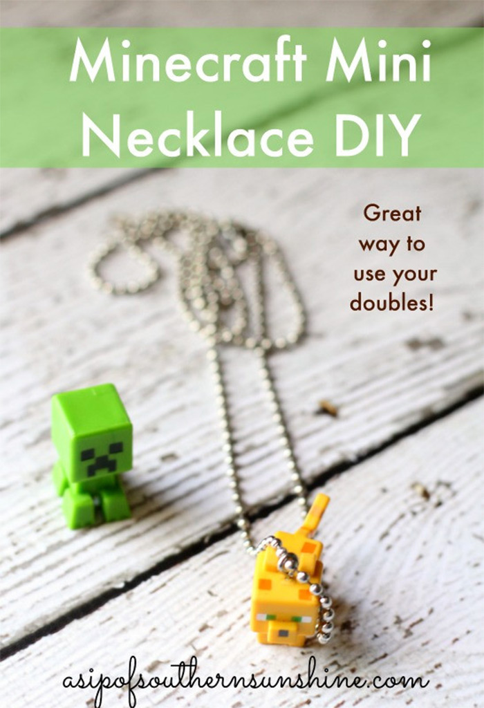 Easy diy mini necklace