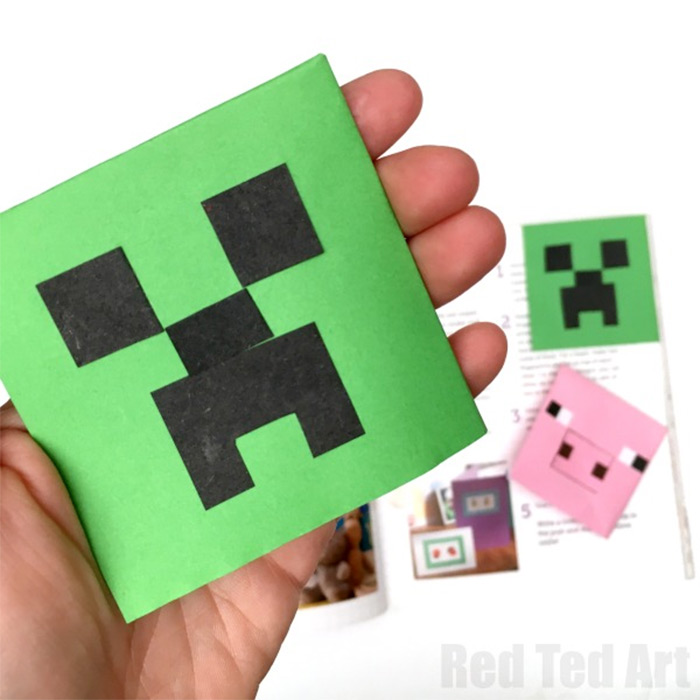 Easy minecraft bookmark