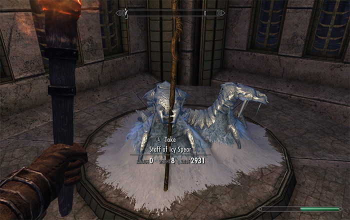 staff icy spear skyrim