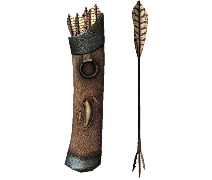 Dragonbone arrows Skyrim