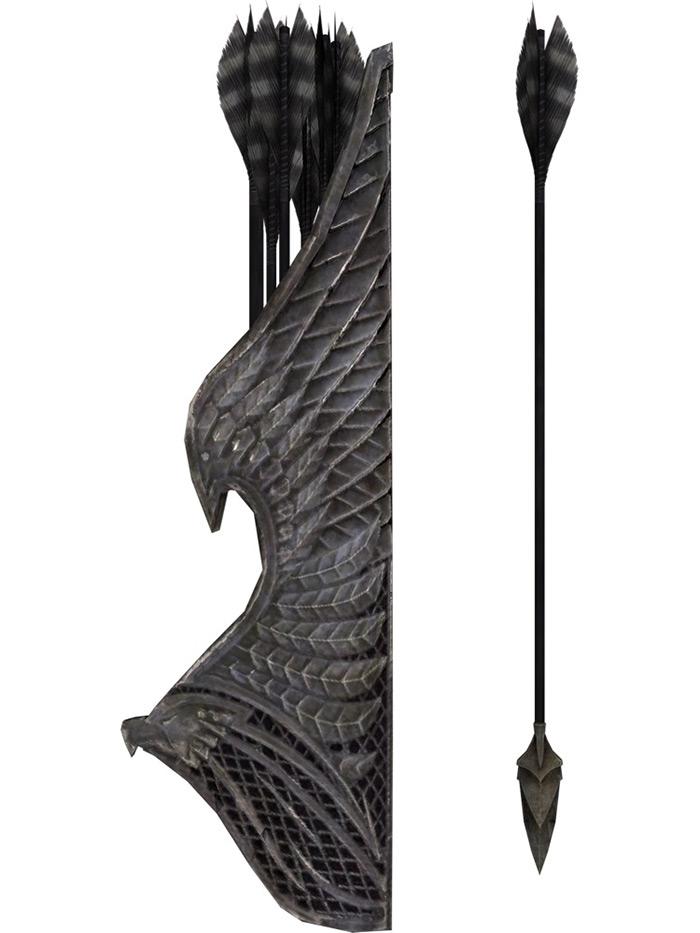 Sunhallowed elven arrow