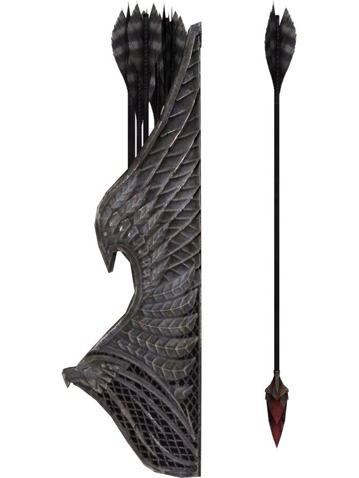 Bloodcursed elven arrows