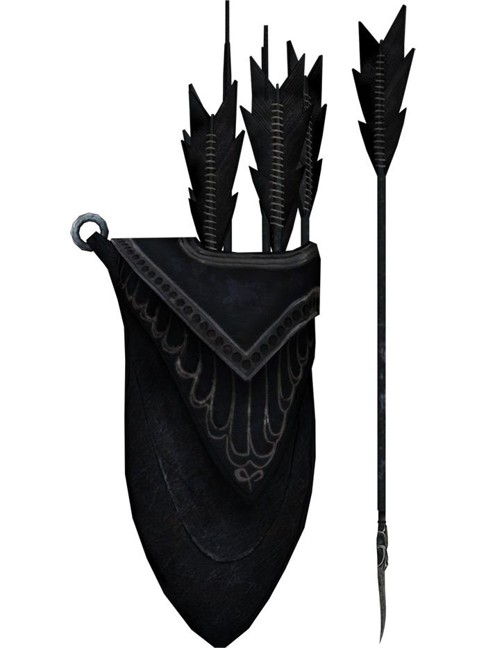 Ebony arrows