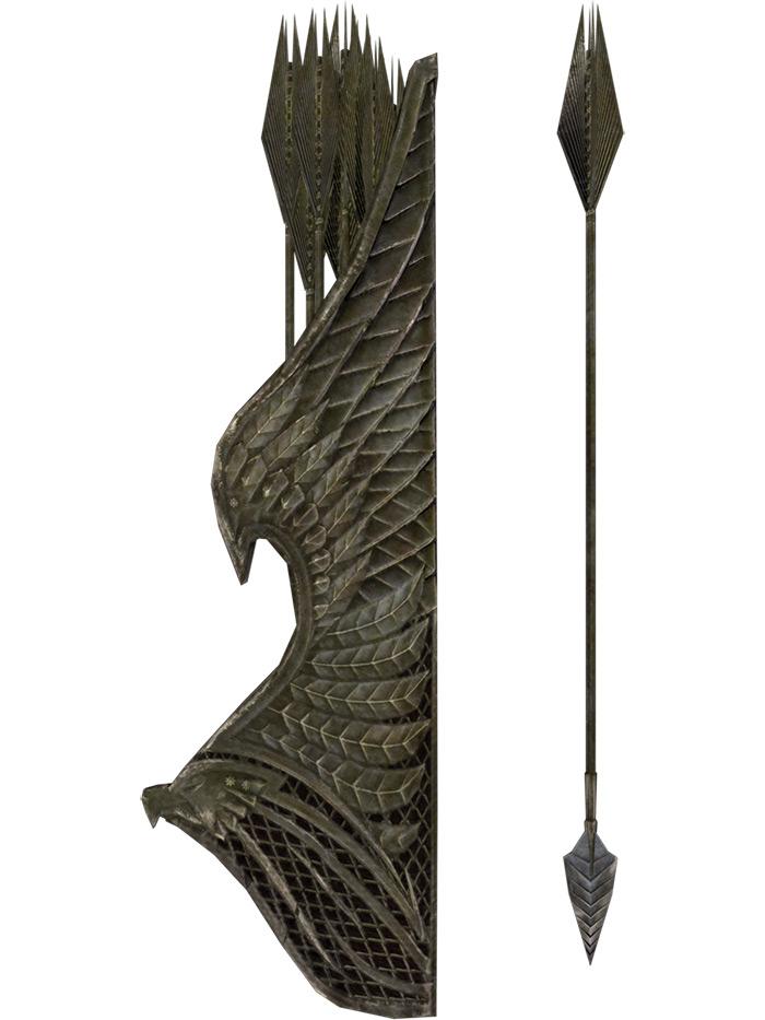Elven Arrows in Skyrim