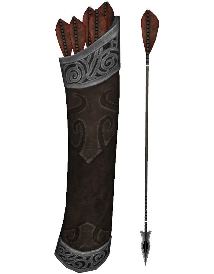 Steel arrow skyrim