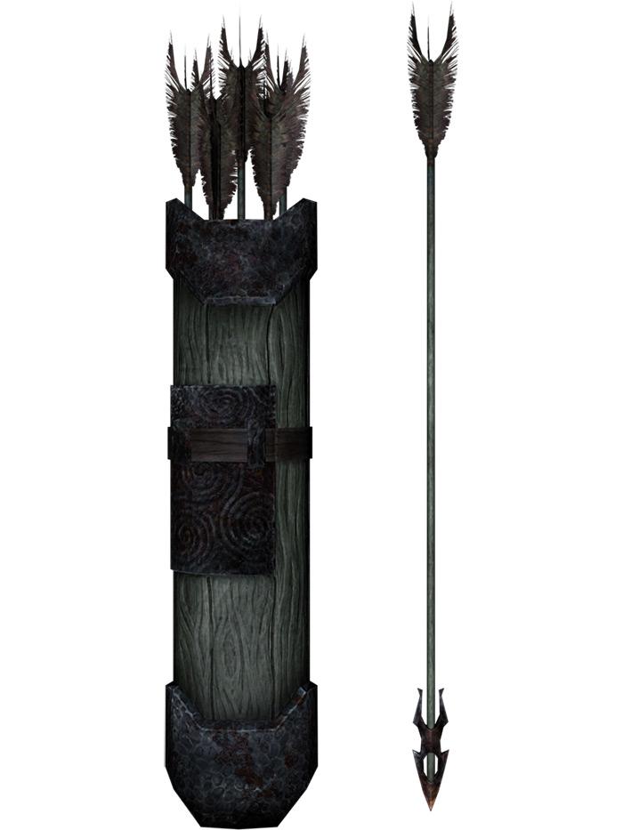 Ancient nord arrow design