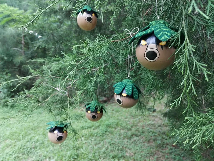 Zelda Deku ornament diy