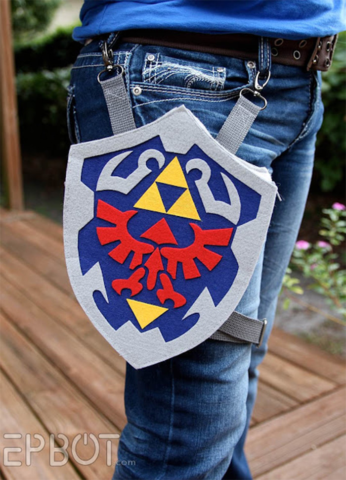 zelda holster bag design