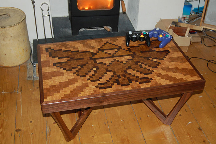 Zelda coffee table project