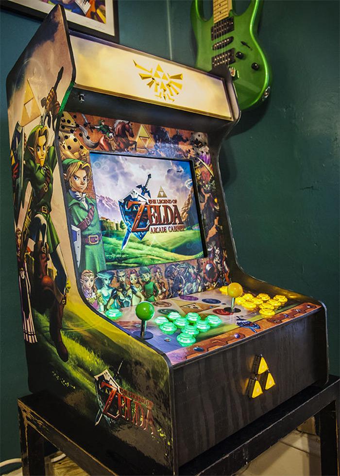LoZ bartop arcade