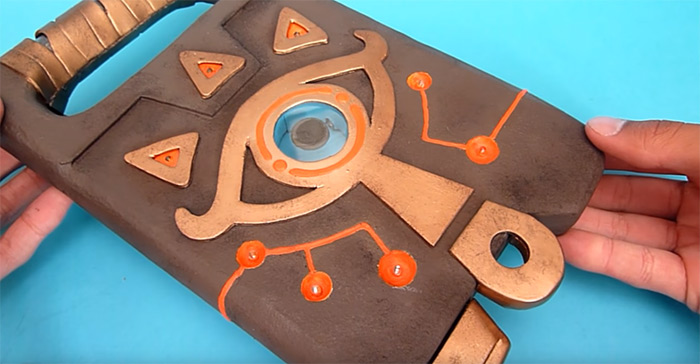 Sheikah slate diy project