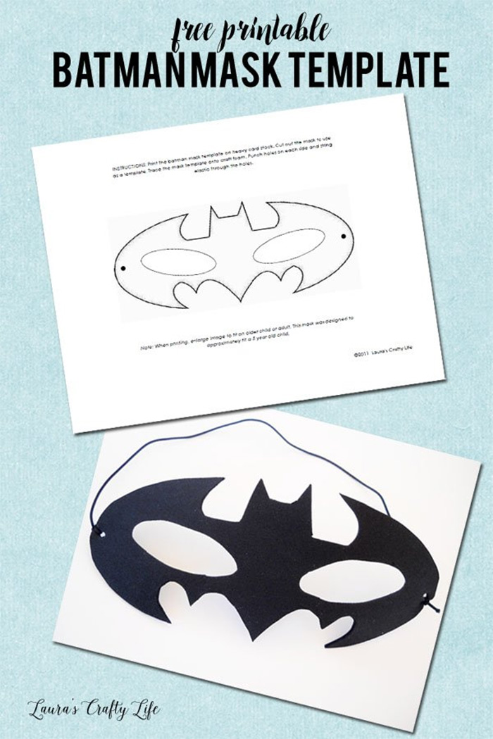 Batman mask craft