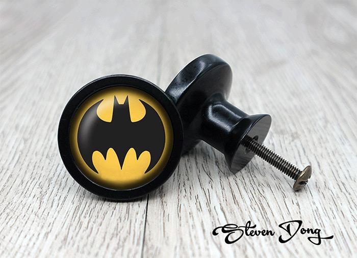 Dark batman handles and knobs