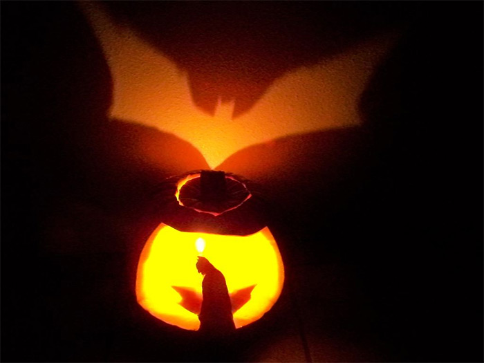 Batman lantern diy