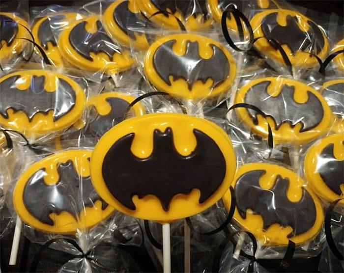 Batman lollipop recipes