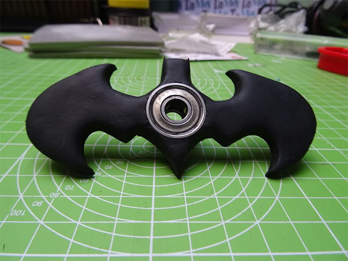 Custom batman fidget spinners