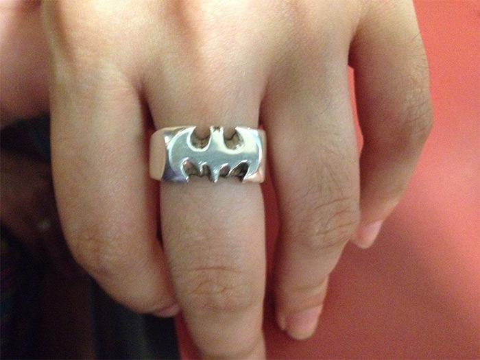 Handmade bat ring