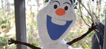 Olaf pinata diy