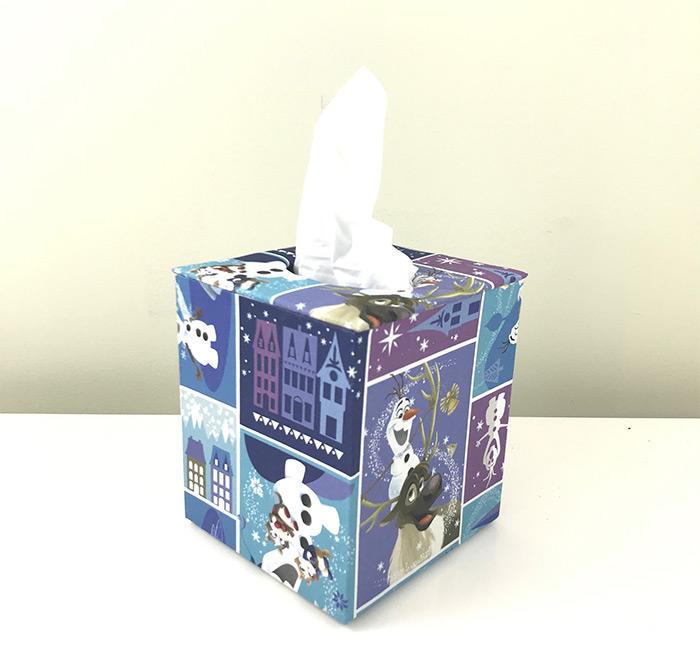Tissue box Frozen design