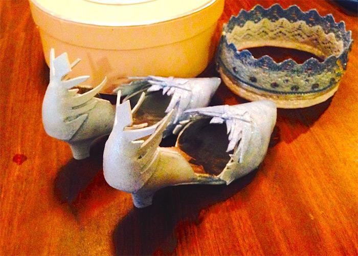 Princess elsa shoes