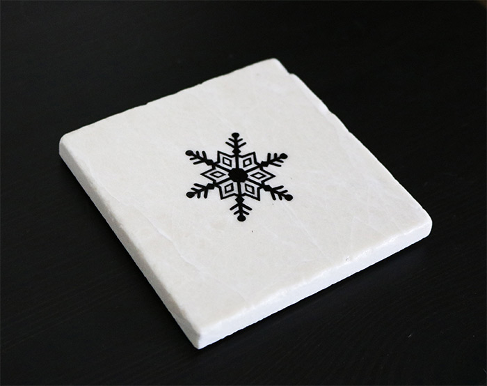 Frozen drink coaster