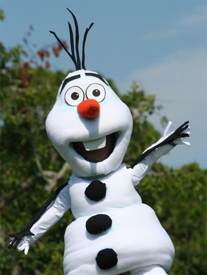 Frozen olaf costumes diy