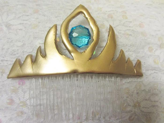 DIY elsa tiara project
