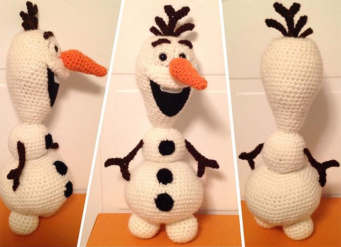 Olaf crochet pattern diy