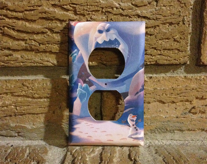 Olaf outlet cover diy