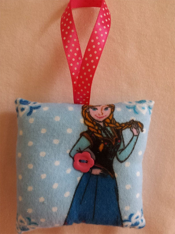 Frozen style pincushion