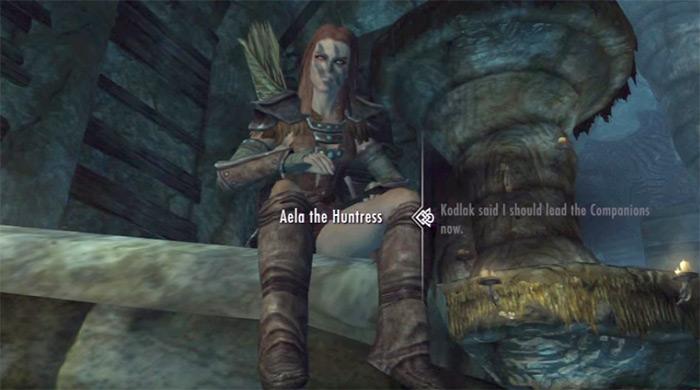 Aela the huntress wife