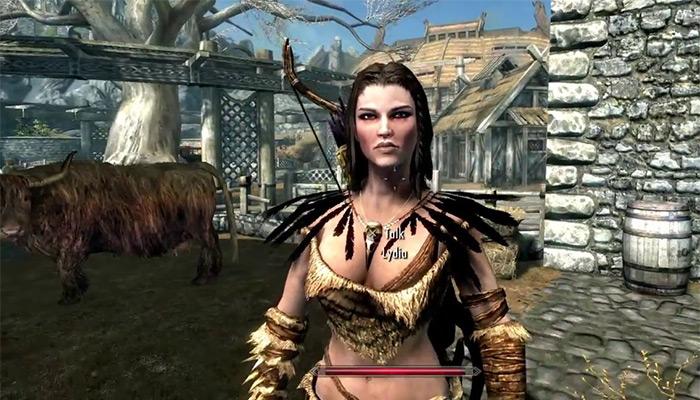 Lydia skyrim wife