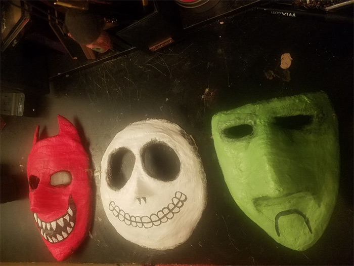 lock shock barrel masks diy