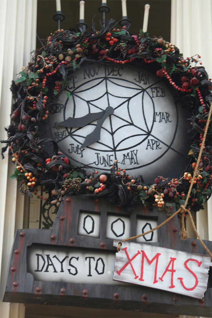 Countdown clock diy halloween town