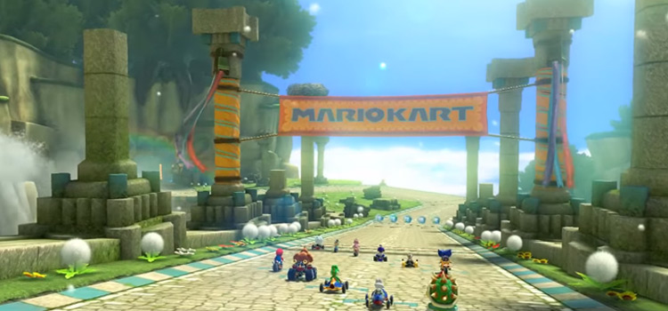 Mario Kart game screenshot