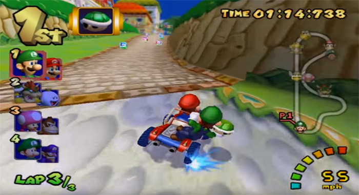Mario Kart Double Dash game screenshot