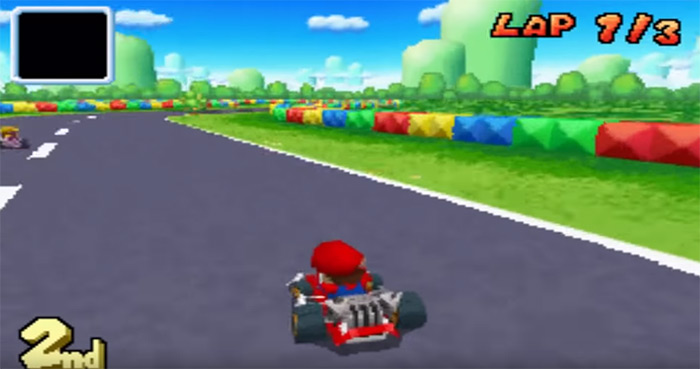 Mario Kart DS screenshot