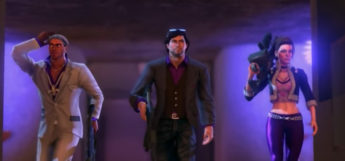 Saints Row Third cast cutscene