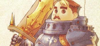 Radiata Stories knight holding a sword