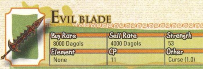Evil Blade Radiata