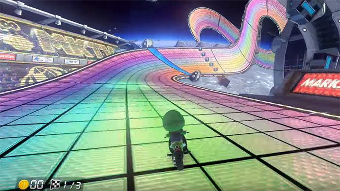 Rainbow Road track
