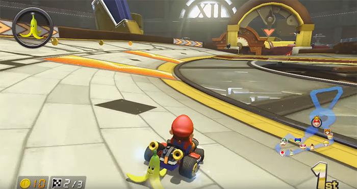 Mario Kart 8 Tick Tock Clock