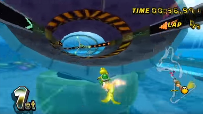 Koopa Cape screenshot gameplay