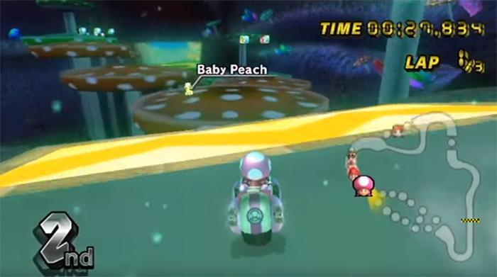 Mushroom Gorge Mario Kart