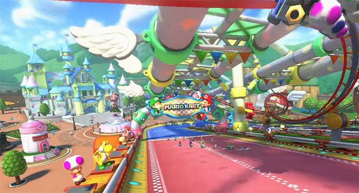 Baby Park screenshot from Mario Kart 8