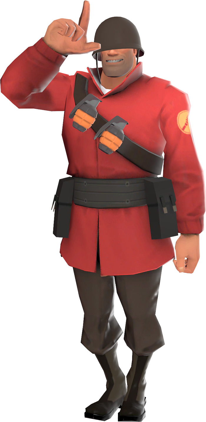 Soldier class in Team Fortress 2